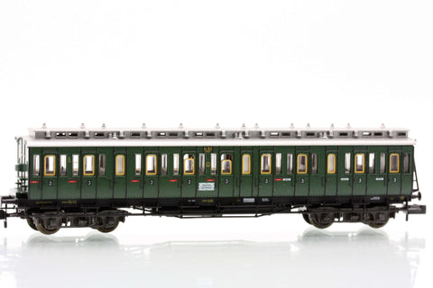 Fleischmann 8087  3rd class compartment car type C4 Pr04 of the DRG
