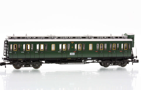 Fleischmann 8089  2nd/3rd class compartment car type BC4 Pr04 of the DRG - The Scuderia 46