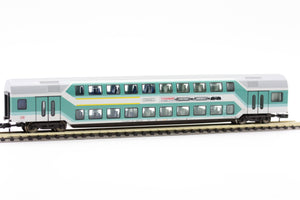 "Fleischmann 8121 97  1st/2nd class double-deck coach ""Fleischmann"", DB AG - The Scuderia 46"