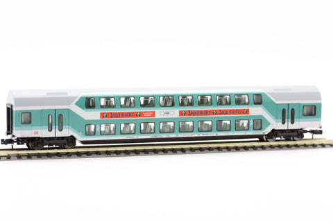 "Fleischmann 8125 97  2nd class double-deck coach""Jägermeister"" , DB AG - The Scuderia 46"