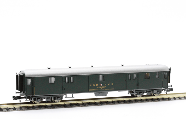 Fleischmann 8130  SBB Baggage car type D - The Scuderia 46