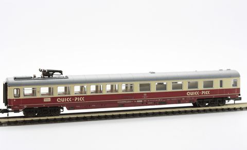 "Fleischmann 8165  Restaurant Coach ""QUICK PICK"" IC / EC, of the DB - The Scuderia 46"