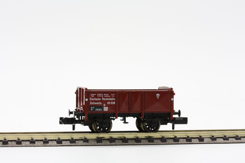 "Fleischmann 8208  Open goods wagon type O ""Schwerin"" of the DRG - The Scuderia 46"