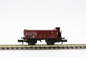 Fleischmann 8212  Open goods wagon with brakeman's cab, of DRG - The Scuderia 46