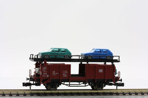Fleischmann 8225  Double-decker car transporter w/cars, DB - The Scuderia 46