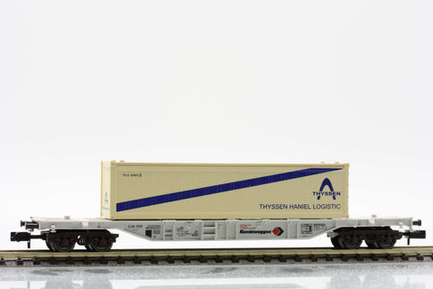 "Fleischmann 8246  Container carrier wagon type Sgss-y, ""KOMBIWAGGON"" - The Scuderia 46"