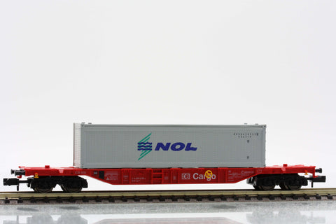 "Fleischmann 8248  Container carrier wagon type Sgns, ""DB CARGO"" - The Scuderia 46"