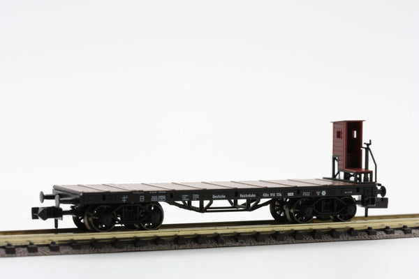 "Fleischmann 8285  ""Cologne"" stake car with brakeman's cab DRG (4-axled) - The Scuderia 46"
