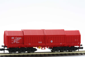 Fleischmann 8386  Telescopic covered wagon, type Sahimms.900 of the DB AG CARGO - The Scuderia 46