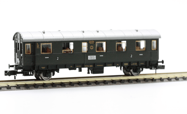 Fleischmann 8661  2nd Class Passenger coach, type Bi, of the DRG. - The Scuderia 46