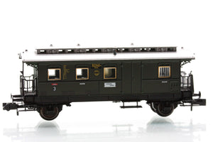 Fleischmann 8765  3rd Class passenger coach with luggage compartment, type CPwi Pr05.b/35 of the DRG
