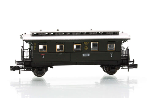 Fleischmann 8767  3rd Class passenger coach, type CCitr Pr05.b of the DRG
