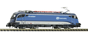"Fleischmann 781873  Electric locomotive Rh 1216 ""Railjet"", ČD (DCC w/Sound) - The Scuderia 46"