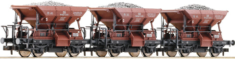 Fleischmann 822705  3 piece set ballast wagons type Talbot, DB - The Scuderia 46