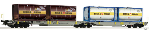 Fleischmann 825007  Articulated double pocket wagon T2000, AAE - The Scuderia 46