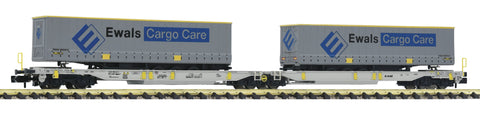 Fleischmann 825008  Articulated double pocket wagon T2000, AAE - The Scuderia 46
