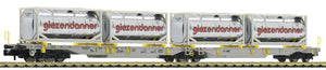 Fleischmann 825009  Articulated double pocket wagon T2000, AAE - The Scuderia 46