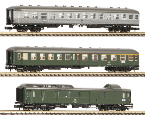 "Fleischmann 881811  3 piece set ""Classic express train set of the epoch IV"" (part 1), DB - The Scuderia 46"