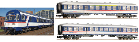 "Fleischmann 881903  3-piece set ""National Express"", NX Rail - The Scuderia 46"