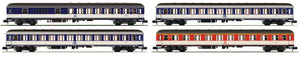 "Fleischmann 881908  4-pc. wagon set ""Popwagon"", DB - The Scuderia 46"