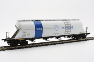 "Heris 13513  SBB Silo Wagon ""TELA RECYCLING"" - The Scuderia 46"