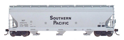 InterMountain Railway 47003  Southern Pacific  ACF 4650 Cu. Ft. 3-Bay Hoppers - The Scuderia 46
