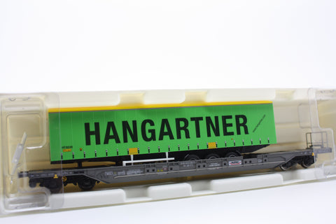 "Kombimodell 10320.09  Pocket Wagon T4.1 Hupac / SBB ""HANGARTNER"" - The Scuderia 46"