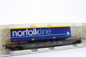 "Kombimodell 10320.09  Pocket Wagon T4.1 Hupac / SBB ""NORFOLK LINE"" - The Scuderia 46"