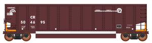 InterMountain Railway 4400003-A02  Conrail EABS - Orange 13 Panel Coalporter® (Six Pack) - The Scuderia 46