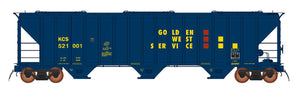 InterMountain Railway 472291  Golden West  4785 PS2-CD Covered Hopper - The Scuderia 46