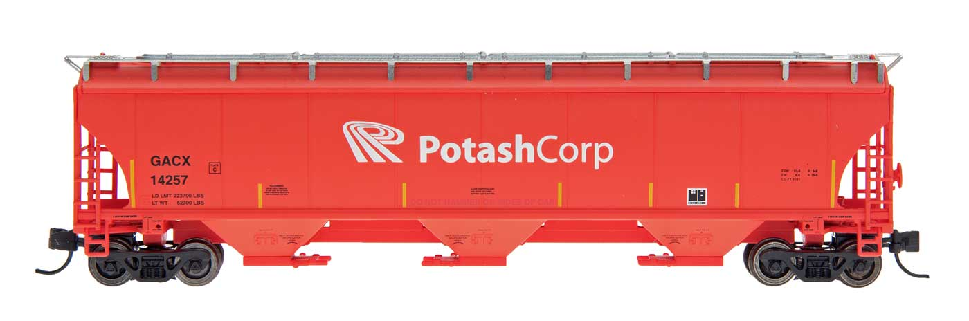 InterMountain Railway 472117  Potash  Trinity 5161 Cu. Ft. Hopper - The Scuderia 46