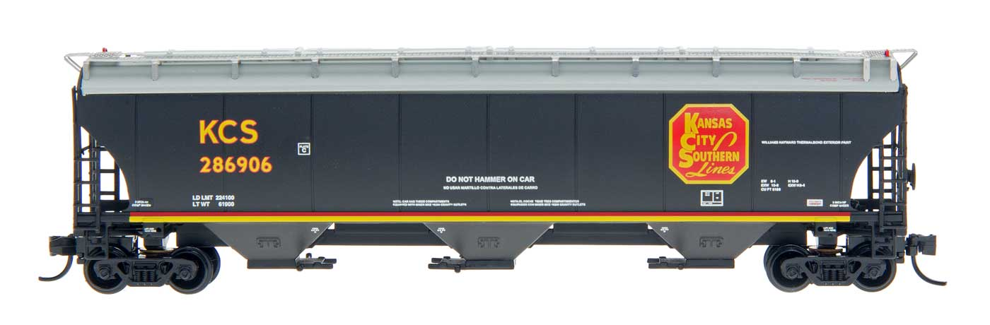 InterMountain Railway 472137  KCS  Trinity 5161 Cu. Ft. Hopper - The Scuderia 46