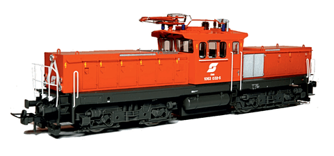 Jägerndorfer 26030 Electric Locomotive Rh 1063 032 ÖBB - The Scuderia 46