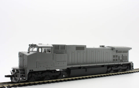 KATO 37-1200  Undecorated C44-9W Diesel with High Numberboards - The Scuderia 46