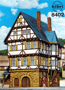 Kibri 8402  Half Timbered House - The Scuderia 46