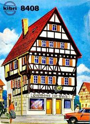 Kibri 8408  Half Timbered Inn with post - The Scuderia 46