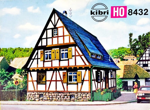 Kibri 8432  Half Timbered house - The Scuderia 46