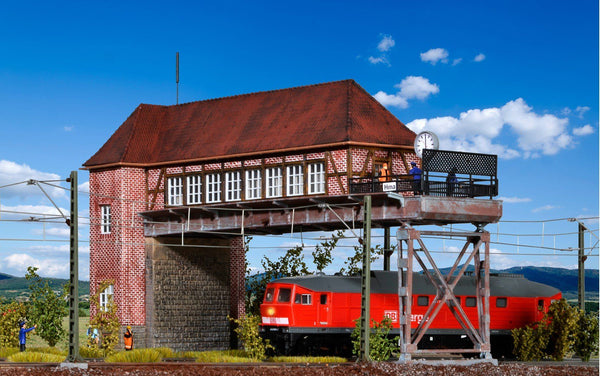 "Kibri 9472   Bridge signal tower ""HAMM"" - The Scuderia 46"