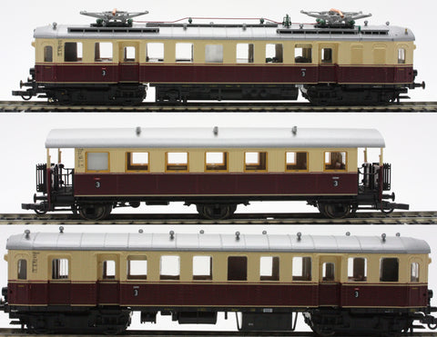 Roco 43007  Electric Railcar Set Series E85 of the DRG - The Scuderia 46