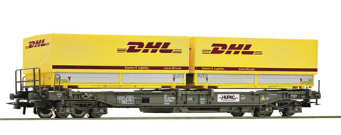 "Roco 67528  Standard pocket wagon ""DHL"", HUPAC - The Scuderia 46"