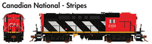 Rapido Trains  MLW RS-18 Canadian National - Stripes - The Scuderia 46
