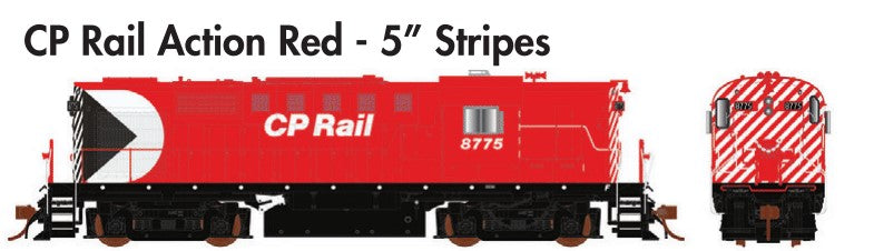 "Rapido Trains  MLW RS-18 CP Rail Action Red - 5"" Stripes - The Scuderia 46"