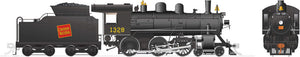 Rapido Trains 603001  Canadian National H-6-d Steam Locomotive