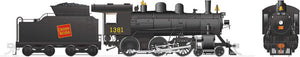 Rapido Trains 603005  Canadian National H-6-g Steam Locomotive