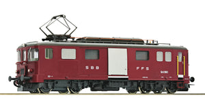Roco 72656  Electric baggage railcar De 4/4 1663, SBB
