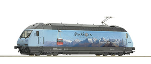 "Roco 73269  Electric locomotive Re 465 016 ""Stockhorn"", BLS (DCC w/Sound)"