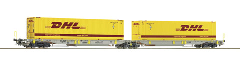 "Roco 76421  T2000 Articulated pocket wagon, ""DHL"""