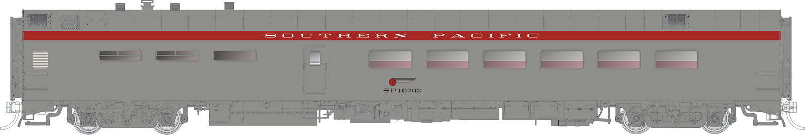 Rapido Trains  Southern Pacific  Pullman-Standard Lightweight Dining Car