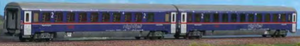 "ACME 55236  ÖBB ""NIGHTJET"" Set of two Bcmz couchette cars - The Scuderia 46"