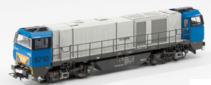 B-Models 3023.01  SNCB 5710 G2000 Diesel Locomotive - The Scuderia 46